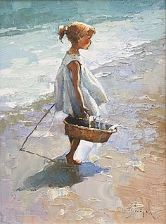 By Alexi Zaitsev, from Russia (b. 1959) - oil on canvas - Alexi Zaitsev was born in 1959 in Ryazan, Russia.  He graduated in 1983 from the Ulianov Art School and worked as a book and magazine illustrator at the Union of Journalists of the USSR.