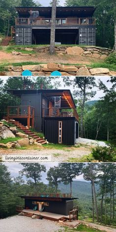 Building A Container Home, Container Cabin, Container Buildings, Container Architecture, Container House Design, Tiny House Design, Architecture Design, Shipping Container Home Designs, Shipping Containers