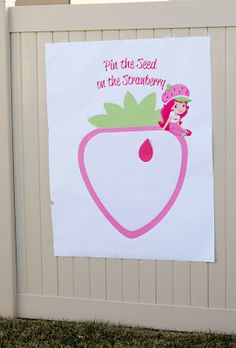 Pin the seed on the strawberry game