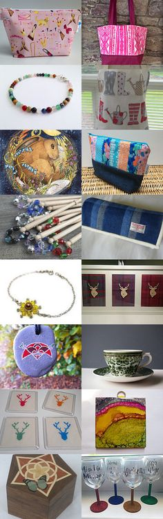 Colourful Treasury by I@Scotland Team by Ruth Mutch on Etsy--Pinned+with+TreasuryPin.com