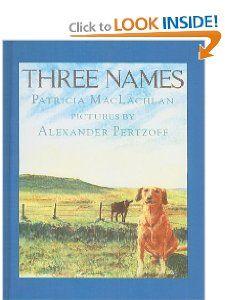Three Names: Patricia MacLachlan, Alexander Pertzoff