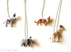 Party Animal Necklace DIY