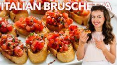 Egg Salad Recipe with the Best Dressing - NatashasKitchen.com Italian Bruschetta Recipe, Tomato Bruschetta, How To Make Bruschetta, Kitchen Recipes, Cooking Recipes, Appetizer Recipes, Appetizers, Supper Recipes, Bruchetta Recipe