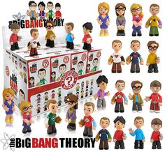 Funko Mistery Minis Big Bang Theory  Complete Box 12 Blind Boxes