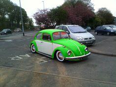 vw beetle neon glow