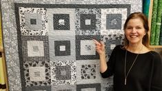Simple. Modern. Elegant. It's Hip to be Square Quilt! Free Pattern | New Giveaway :) - YouTube