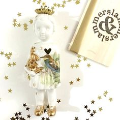Kerst editie Popje 11  #limitededition #kerstpopje #lammersenlammers #dutchdesign #special #ceramicdoll