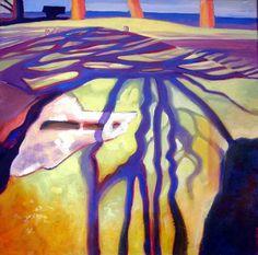 Shadow tracks by Sue Fawthrop