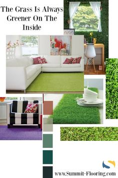 original un tapis en gazon synth tique gazonsynthetique vert d coration s jour salon. Black Bedroom Furniture Sets. Home Design Ideas