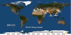 Timelapse Animation Lets You See the Rise of Cities Across the Globe, from 3700 BC to 2000 AD |  Open Culture