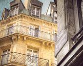Fine art photograhy, Paris Photography, Yellow Art, Paris street, Paris decor  $27.76