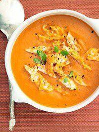 5 ingredients Chicken Tomatoe Bisque