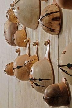 Gourd clocks.