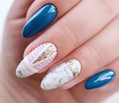This is absolutely divine! #nailart #springnails