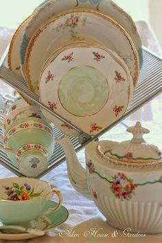 teatime.quenalbertini: Vintage Tea Time | Aiken House & Gardens