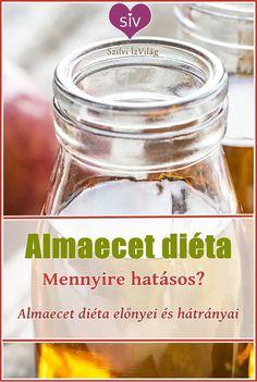 Almaecet diéta - Az egyik legegyszerűbb diéta, de mennyire hatásos?