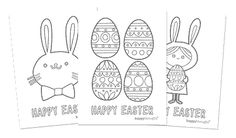 colouring in pages for easter easter bunny and girl