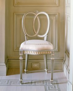 Great chair- Decorating and Design Tips from Mary Douglas Drysdale - Traditional Home®