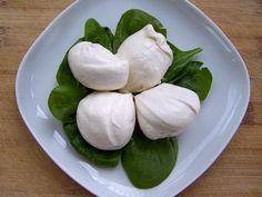Vegan Cashew Mozzarella.