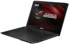 Asus ROG GL552VW (GL552VW-CN481T)  — 86990 руб. —  Максимальная скорость, оригинальный дизайн, великолепное изображение и возможность апгрейда конфигурации - встречайте геймерский ноутбук Asus ROG GL552VW. В компактном корпусе скрывается мощная конфигурация, включающая операционную систему процессор Intel Core и дискретную видеокарту NVIDIA GeForce. Ноутбук также оснащается интерфейсом USB 3.1 в виде удобного обратимого разъема Type-C. Клавиатура ноутбуков серии GL552 оптимизирована…