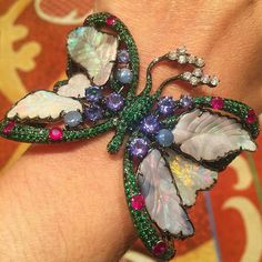 """""""Desperately wishing we could strap on these #opal wings and hightail it out of #Vegas, but, alas,…"""""""