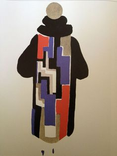 Sonia Delaunay - Coat for Gloria Swanson 1924