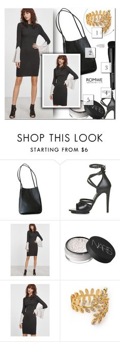 """""""1161"""" by melanie-avni ❤ liked on Polyvore featuring Topshop, NARS Cosmetics, Arbonne and Gorjana"""