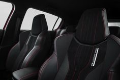PEUGEOT 308 GTi front sport seat: The classic seats are replaced with sport ones. Peugeot 308 Gti, Supercars, Automobile Magazine, Ikea Stool, Brown Leather Recliner Chair, Restaurant Tables And Chairs, Mid Century Dining Chairs, Car Seats, Autos