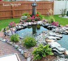 Mejores 29 Imagenes De Estanques Jardin En Pinterest Teiche - Jardin-con-estanque