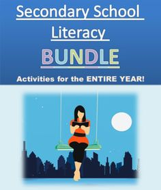 This Secondary School Literacy Bundle has been specifically created to develop students' vocabulary, writing and reading skills. This package provides more than enough activities, writing prompts and writing templates to cover you for the entire year. These templates are ready to use with little...