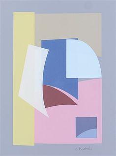 Variante n. 5 della composizione n. 29 1943-1977 by Carla Badiali