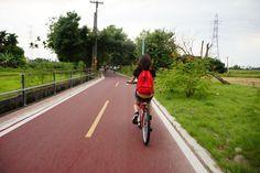 單車徑的難度不高,只是有些上坡的地方比較吃力,怕累的話可以選擇下車推車上坡,免得浪費體力。/來源Travel with Stella*