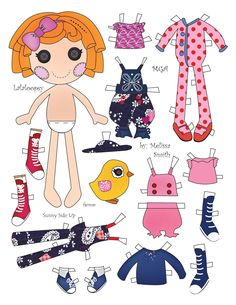 Miss Missy Paper Dolls: Sunny Side Up and Berry Jars and Jams