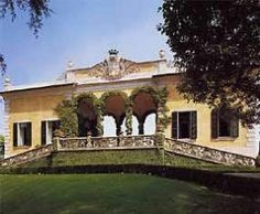 Villa del Balbianello on Lake Como, Italy