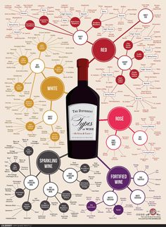 A fun chart for great food and wine combos.