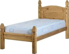 Brand new item Corona 3' Bed Low... available to buy at http://discountsland.co.uk/products/corona-3-bed-low-foot-end-in-distressed-waxed-pine-200-201-010?utm_campaign=social_autopilot&utm_source=pin&utm_medium=pin. Get #discounts on #furniture #homedecor