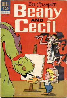 """Bob Clampett's """"Beany and Cecil"""" Comic #4, April-June 1963"""