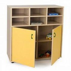 Mueble escolar intermedio armario y casillero