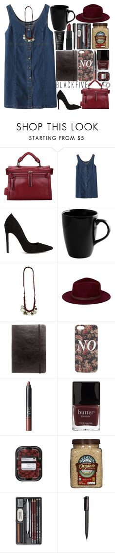 """""""515. What I Find Is Pleasing And I'm Feeling Fine"""" by raelee-xoxo ❤ liked on Polyvore featuring ASOS, 10 Strawberry Street, Brixton, Zara, With Love From CA, NARS Cosmetics, Butter London, Harley-Davidson, raeleespenguin and BlackFive"""