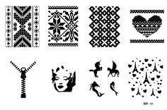 BBF Nail Stamping plate  Made in Brazil  Please NOTE: Some images might be slightly different from picture.  ---  Handling time - 10 business days Shipping time - from 15 to 20 days. Please keep in mind it's an international order ;)