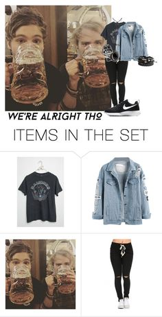 """""""Chug"""" by iamparrish ❤ liked on Polyvore featuring art"""