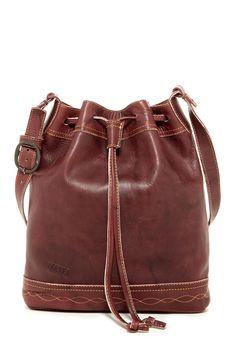 Frye | Campus Vintage Leather Drawstring Bag |   Sponsored by Nordstrom Rack.