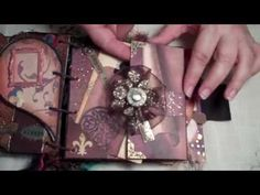 Once Upon A Time Mini Album made by Belinda Ackers, another beautiful mini album. Check out her blog for many more.