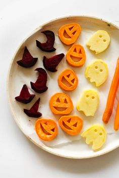 Even the pickiest of eaters won't be able to resist a bite of these super cute snacks.Get the recipe at Live Eat Learn.Tools you'll need: $12, Wilton 12-Piece Mini Halloween Cookie Cutter Set, amazon.com