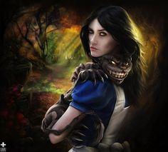 Alice & Cheshire Alice Madness Returns