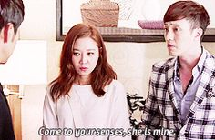 hahaha I loved how he was adorably possessive of her. Master's Sun