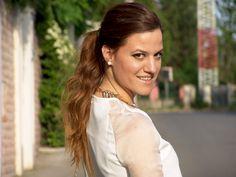 Marija Marković: White dress