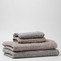 Une place sur la Terre | Double Gauze Linen Bath Towel - Analogue Life