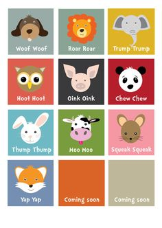 Nursery print  / Children's room / Kids room/baby / art for baby / cute animal print