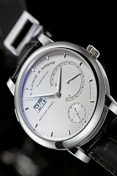 A. Lange & Söhne Lange 31 Watch 130.025 from the second edition of World Brand Piazza exhibition, a part of Hong Kong Watch & Clock Fair.